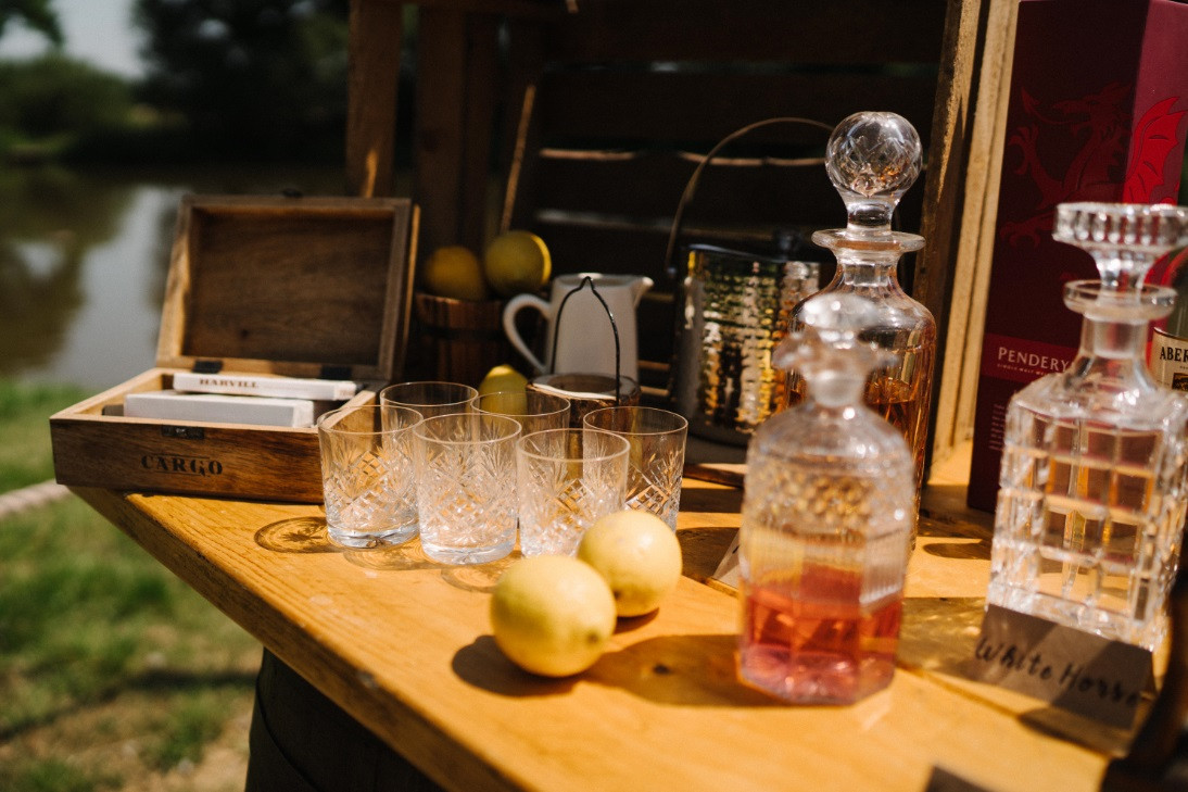 Whiskey Decanter Hire | Chocolate Falls