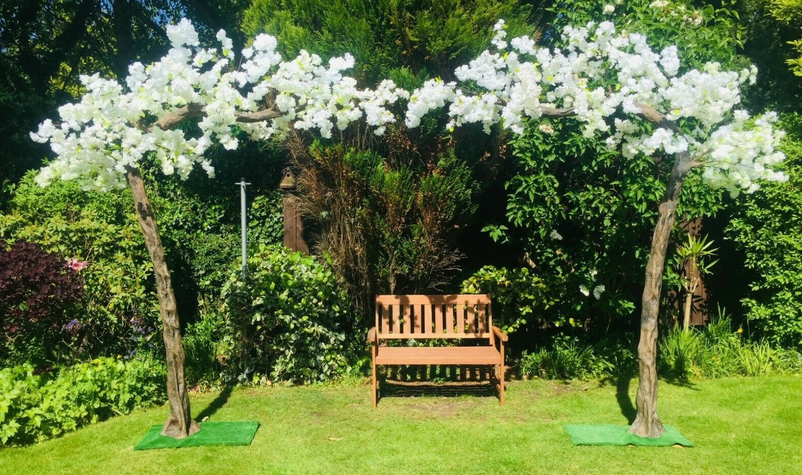 10ft Blossom Trees Event Hire | Chocolate Falls