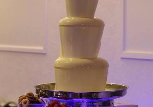 White Chocolate Fountain   Chocolate Falls