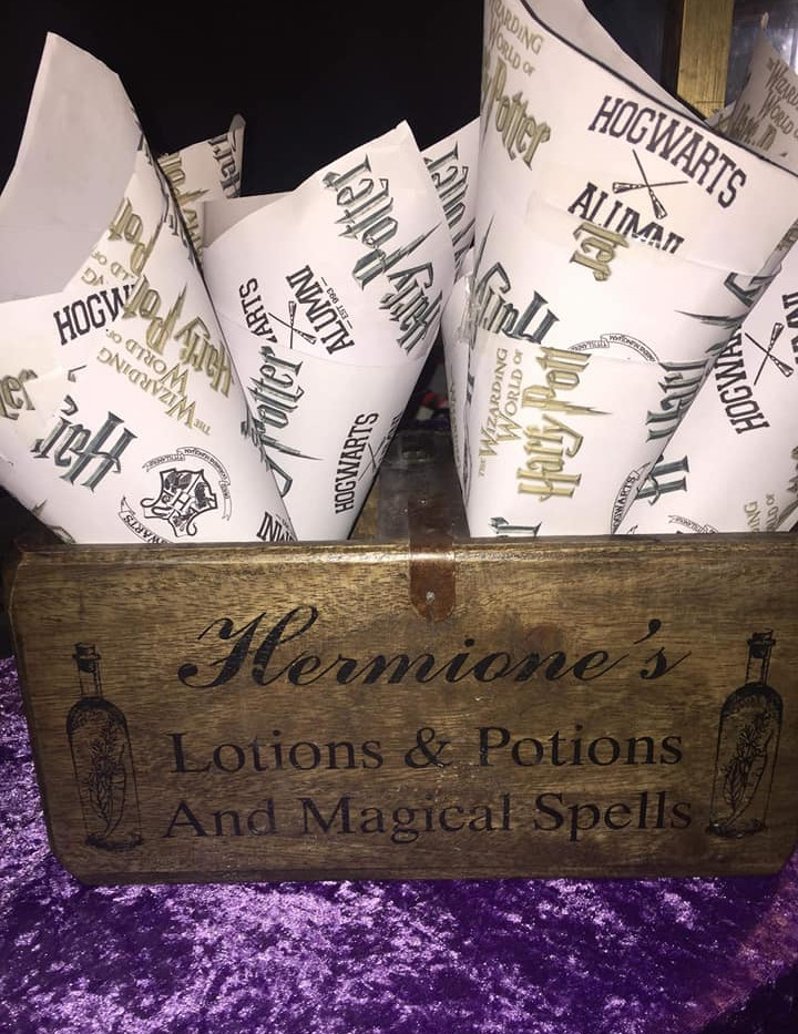 Wedding Confetti Harry Potter   Chocolate Falls
