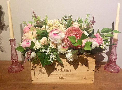 Rustic & Pink Flower Hire   Chocolate Falls