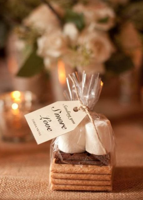 S'more Love Favours | Chocolate Falls