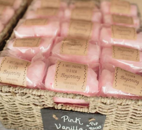 Candyfloss Wedding Favours | Chocolate Falls
