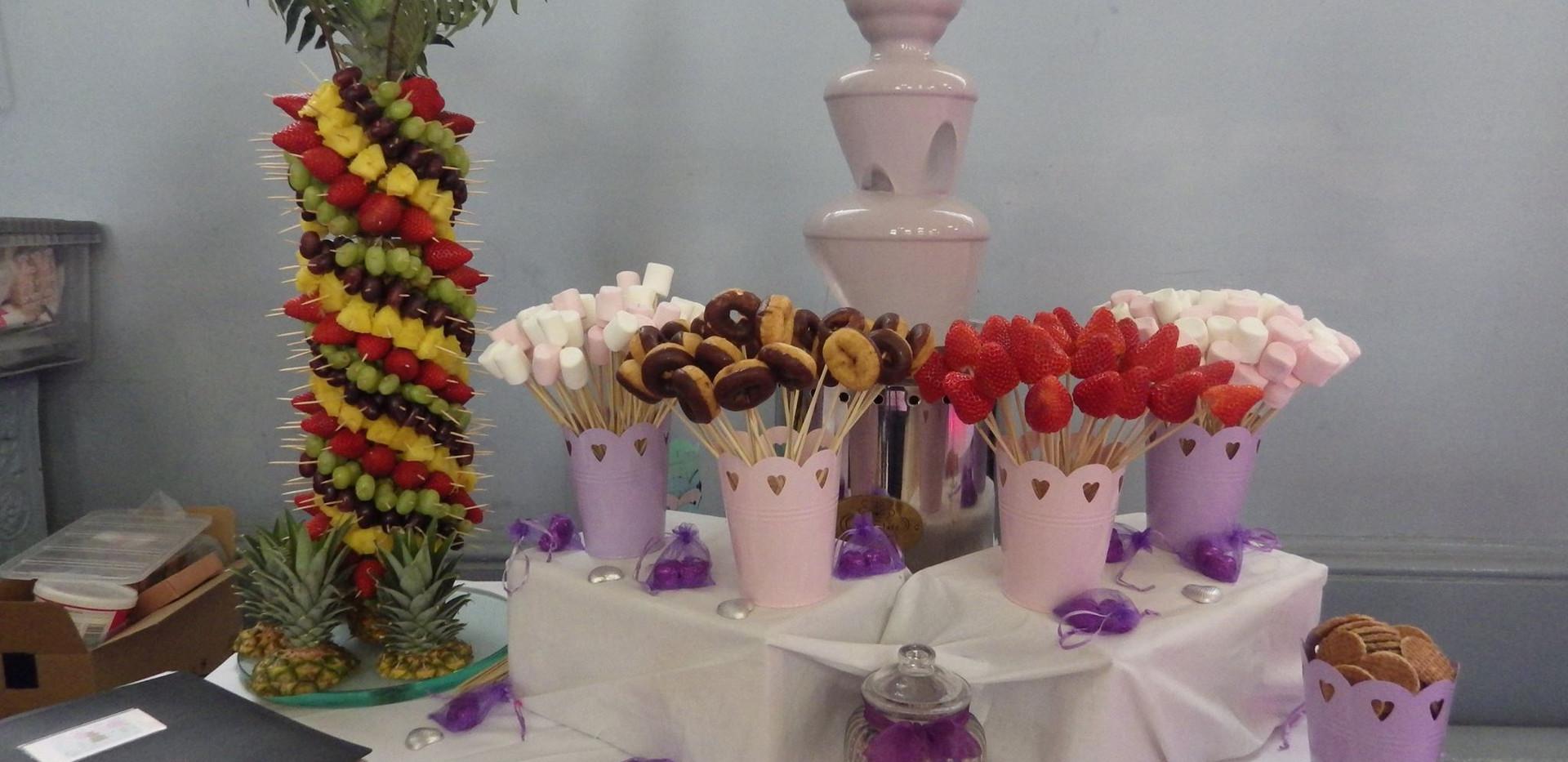 Lilac Chocolate Fountain | Chocolate Falls