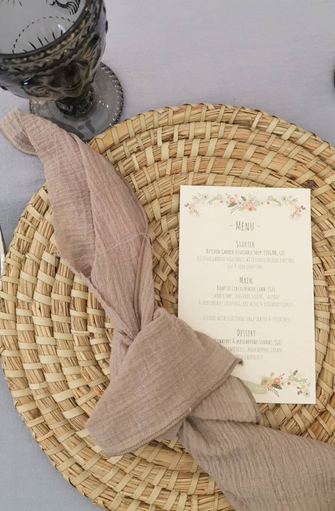 Bamboo Placemats | Chocolate Falls