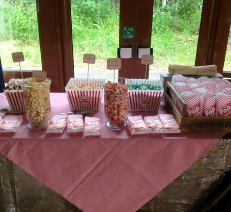Popcorn & Candyfloss Display | Chocolate Falls