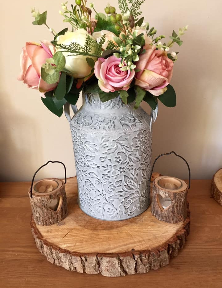Dusky Faux Roses Event Hire | Chocolate Falls