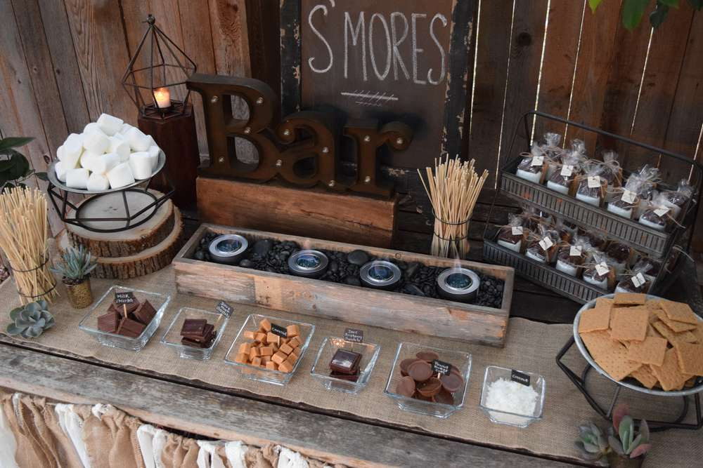 DIY Smore Station | Chocolate Falls
