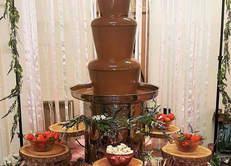 Enchanted Forest Chocolate Fountain   Chocolate Falls