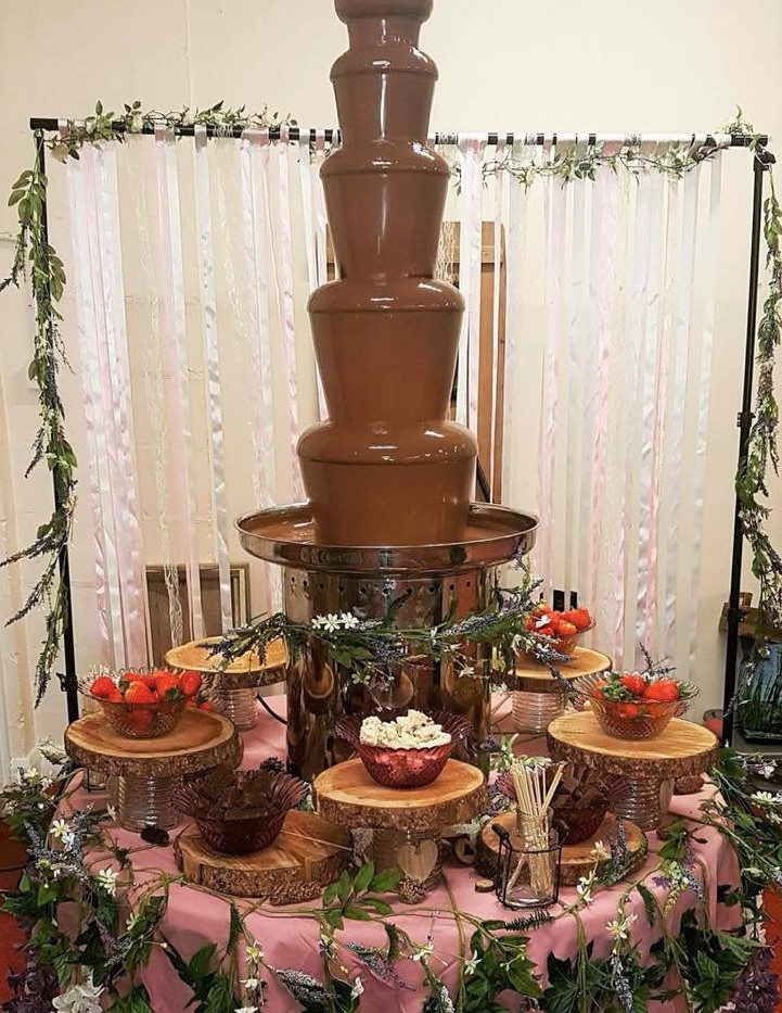 Enchanted Forest Chocolate Fountain | Chocolate Falls