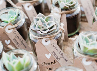 Wedding Favours - 10 ideas to thank your guests