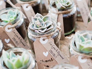 Wedding Favours - 10 ideas on how to thank your guests