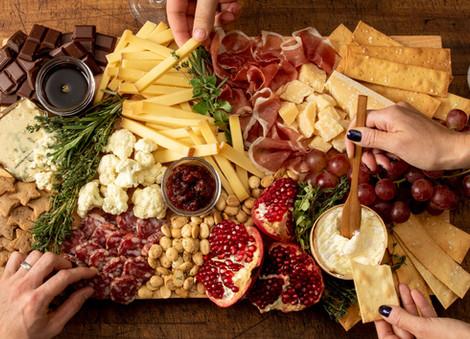 Cheese Fondue Platter | Chocolate Falls