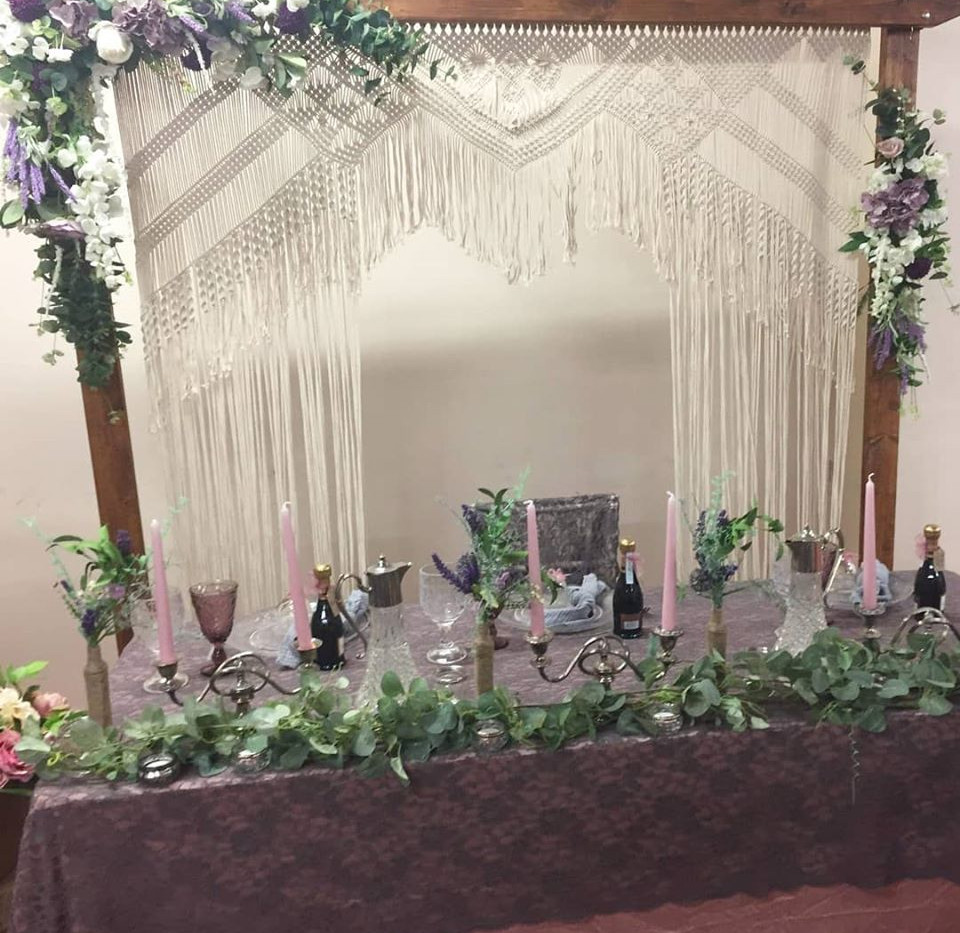Purple Lace Setting Event | Chocolate Falls