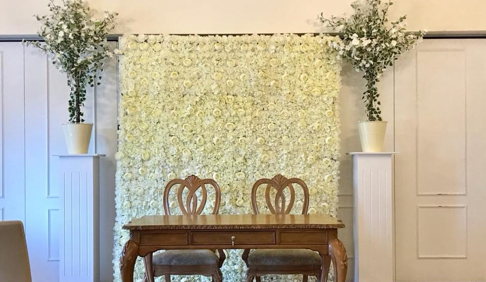 Flower Wall Event Hire | Chocolate Falls