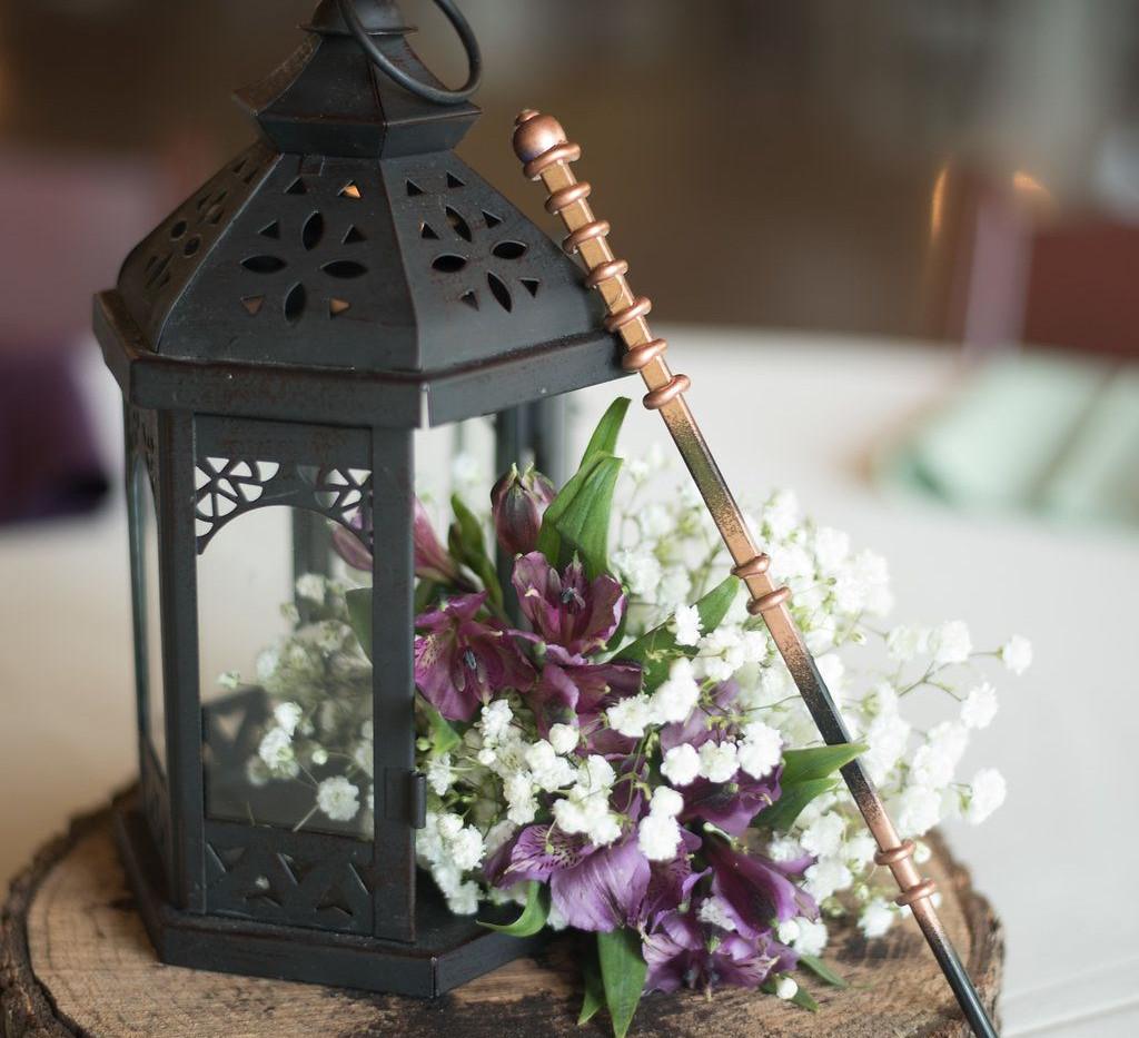 Harry Potter Wand Wedding Centrepiece   Chocolate Falls