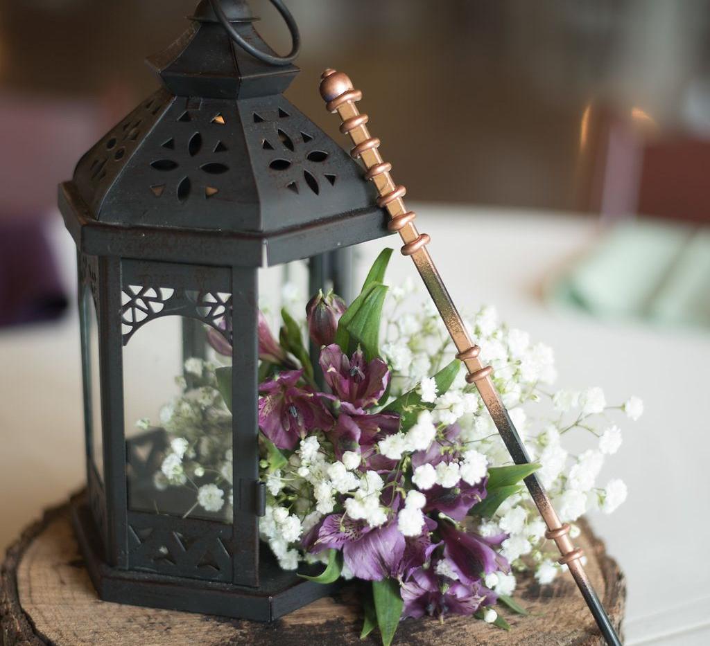 Harry Potter Wand Wedding Centrepiece | Chocolate Falls