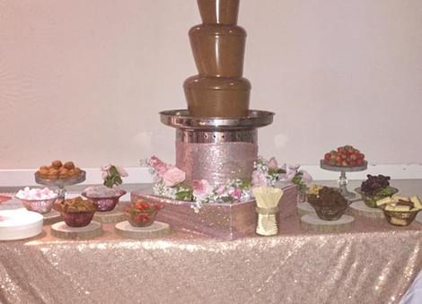 Glamorous Chocolate Fountain   Chocolate Falls