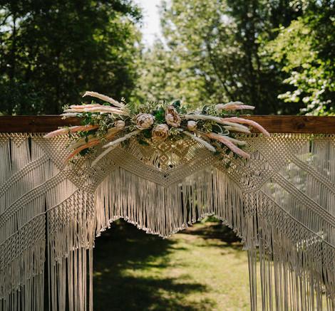 Wedding Woodland Arch Hire   Chocolate Falls
