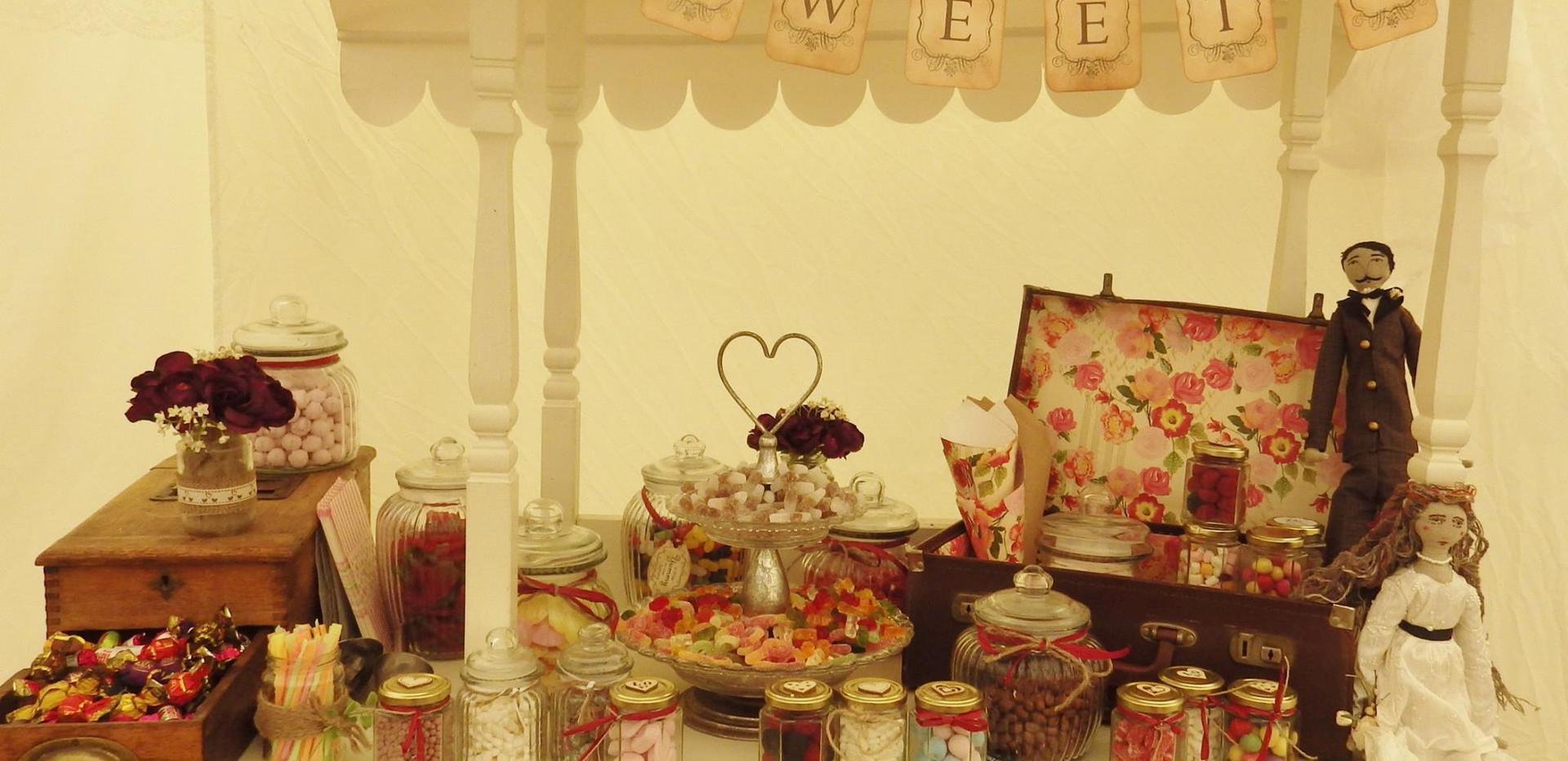 Vintage Sweet Cart | Chocolate Falls