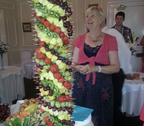 Large Fruit Tree Snack | Chocolate Falls