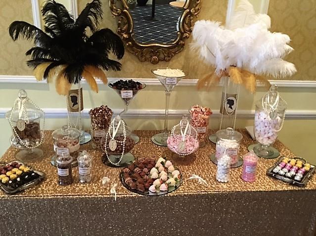 Great Gatsby Sweet Bar | Chocolate Falls