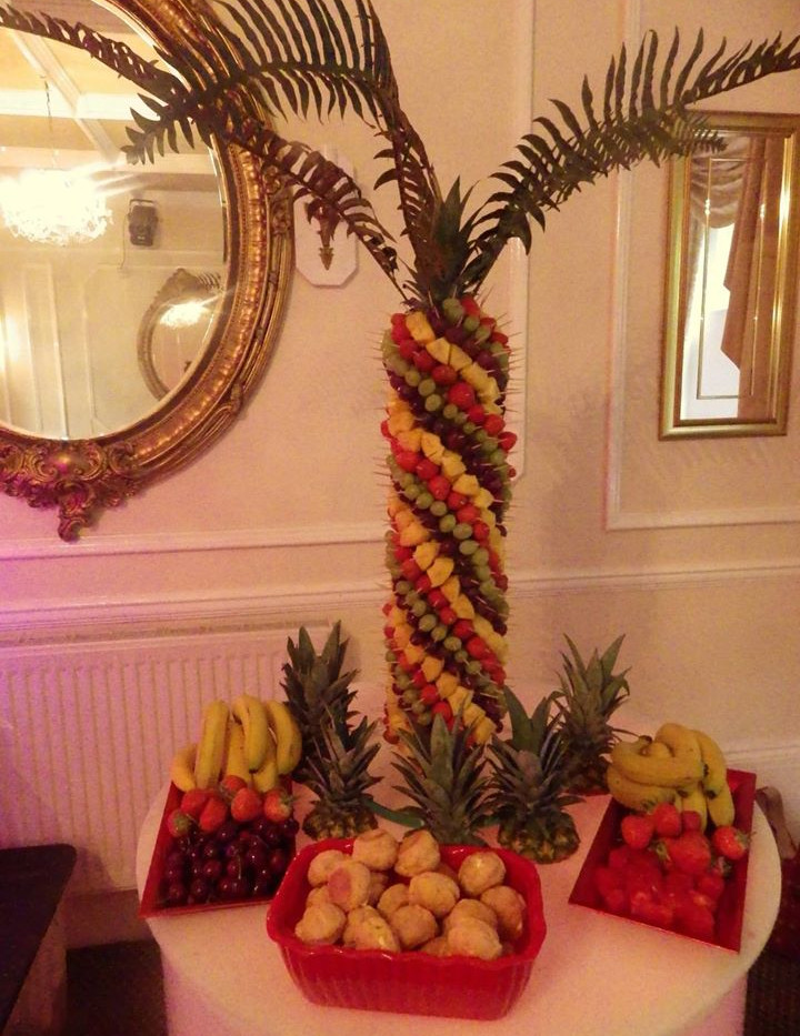 Healthy Wedding and Event Snack | Chocolate Falls