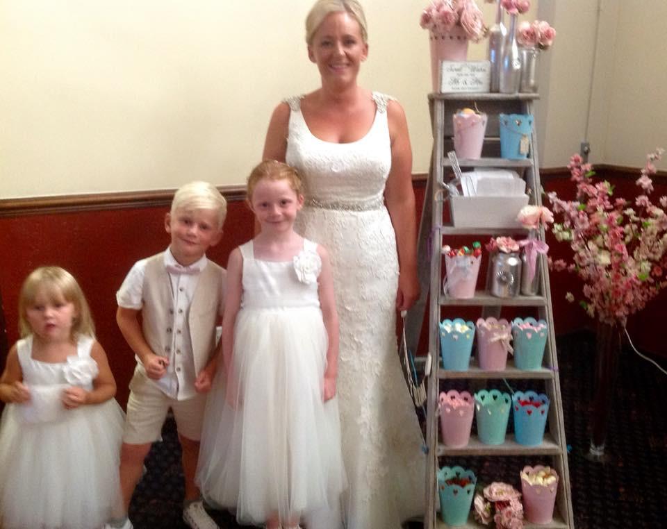 Wedding Sweet Ladder | Chocolate Falls