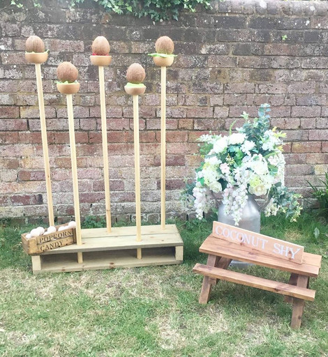 Coconut Shy Event Hire | Chocolate Falls