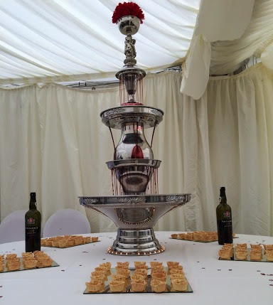Cheese & Port Beverage Fountain | Chocolate Falls
