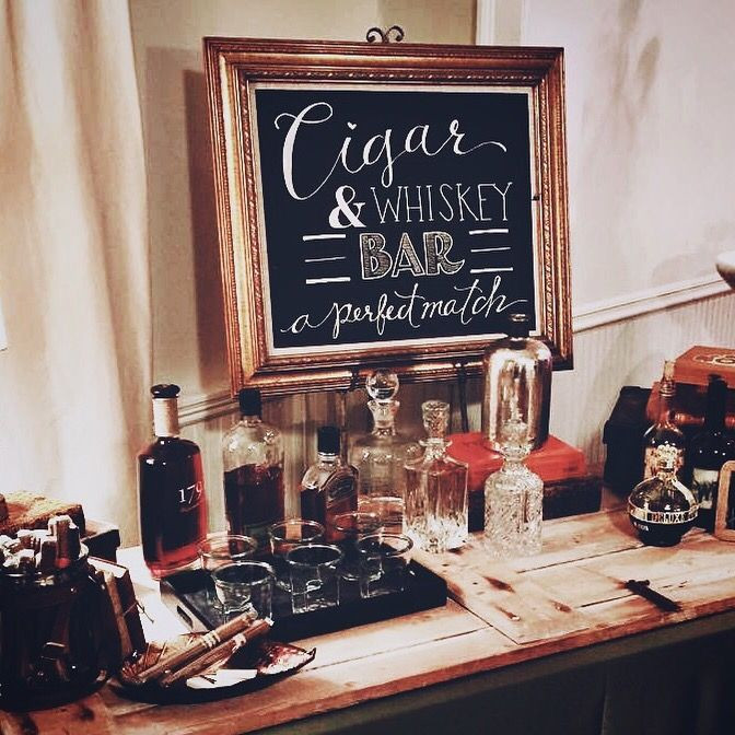 Cigar & Whiskey | Chocolate Falls