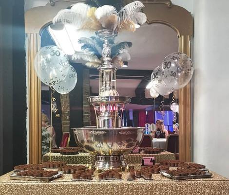 30th Party Baileys Fountain | Chocolate Falls