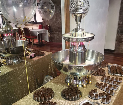 Baileys Fountain | Chocolate Falls