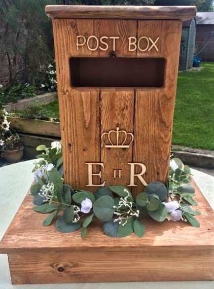 Rustic Post Box Event Hire | Chocolate Falls