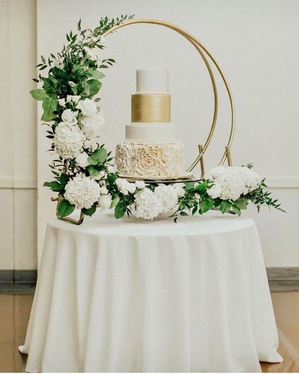 Wedding Cake Hoop Stand Event Hire | Chocolate Falls