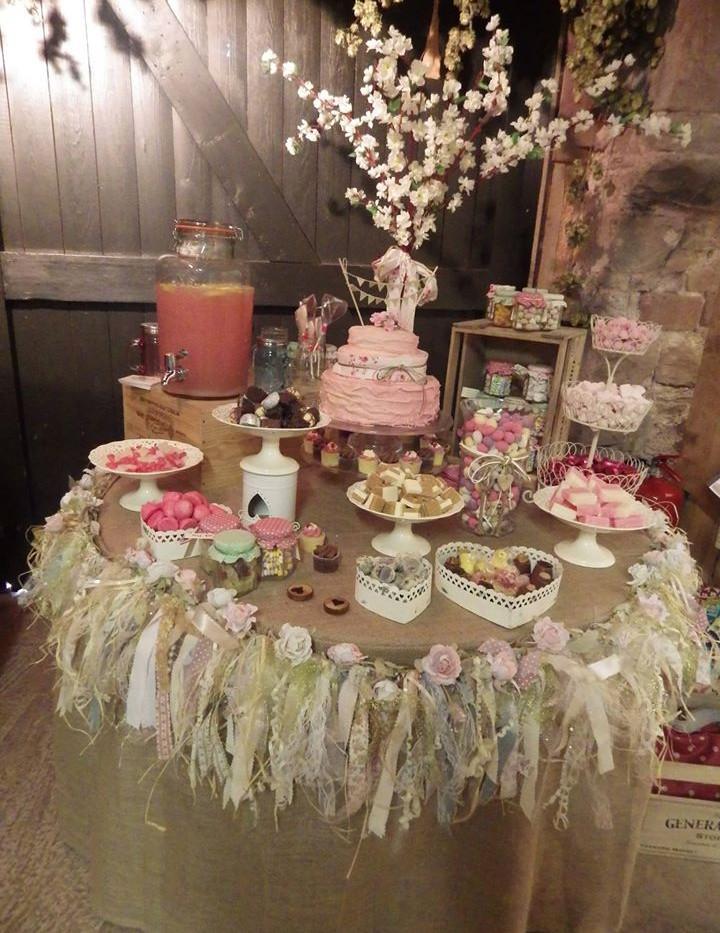 Rustic Sweet Bar Event Hire | Chocolate Falls