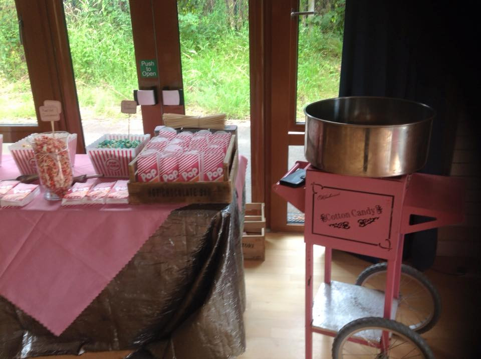 CandyFloss Corner Party   Chocolate Falls