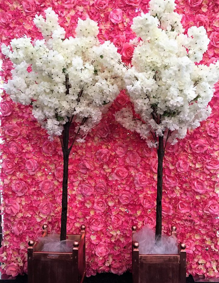 Blossom Trees Event Hire | Chocolate Falls