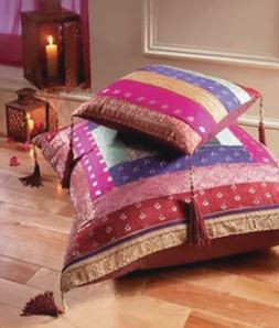 Moroccan Cushion Hire | Chocolate Falls