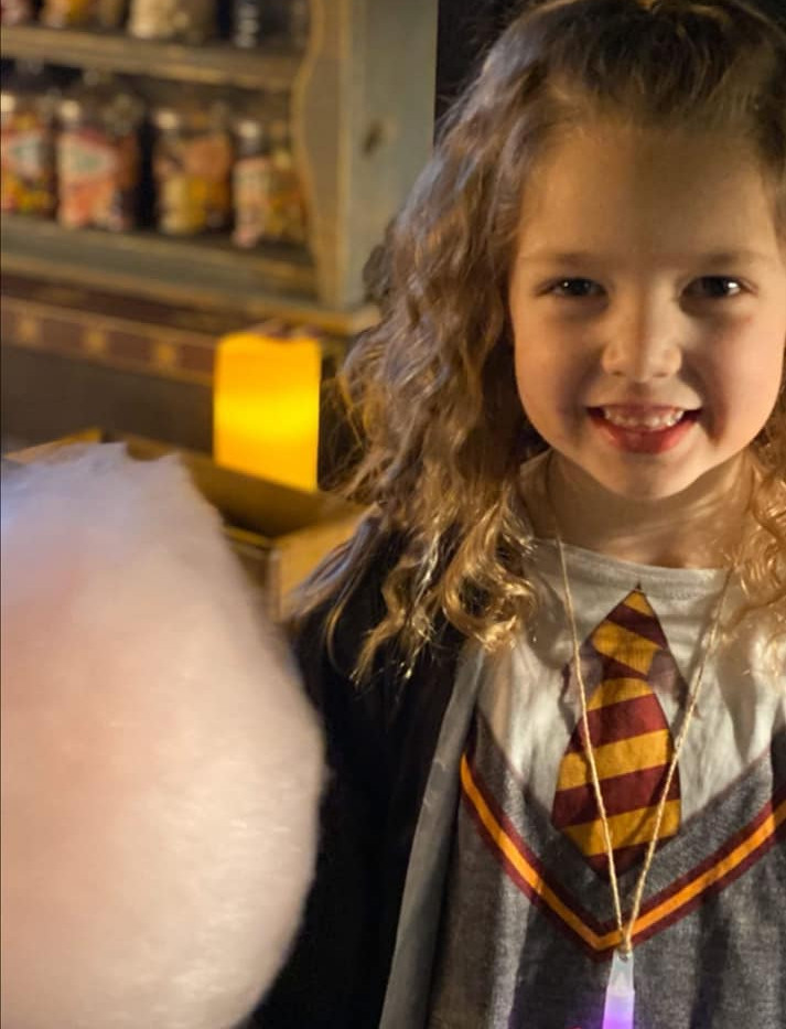 Harry Potter Candyfloss Party | Chocolate Falls