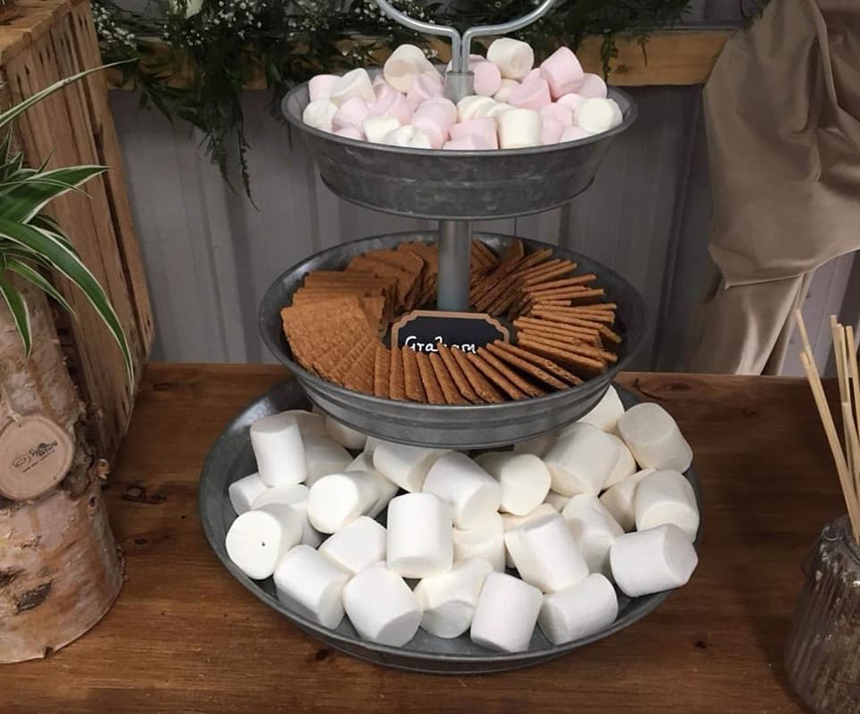Smore Display | Chocolate Falls