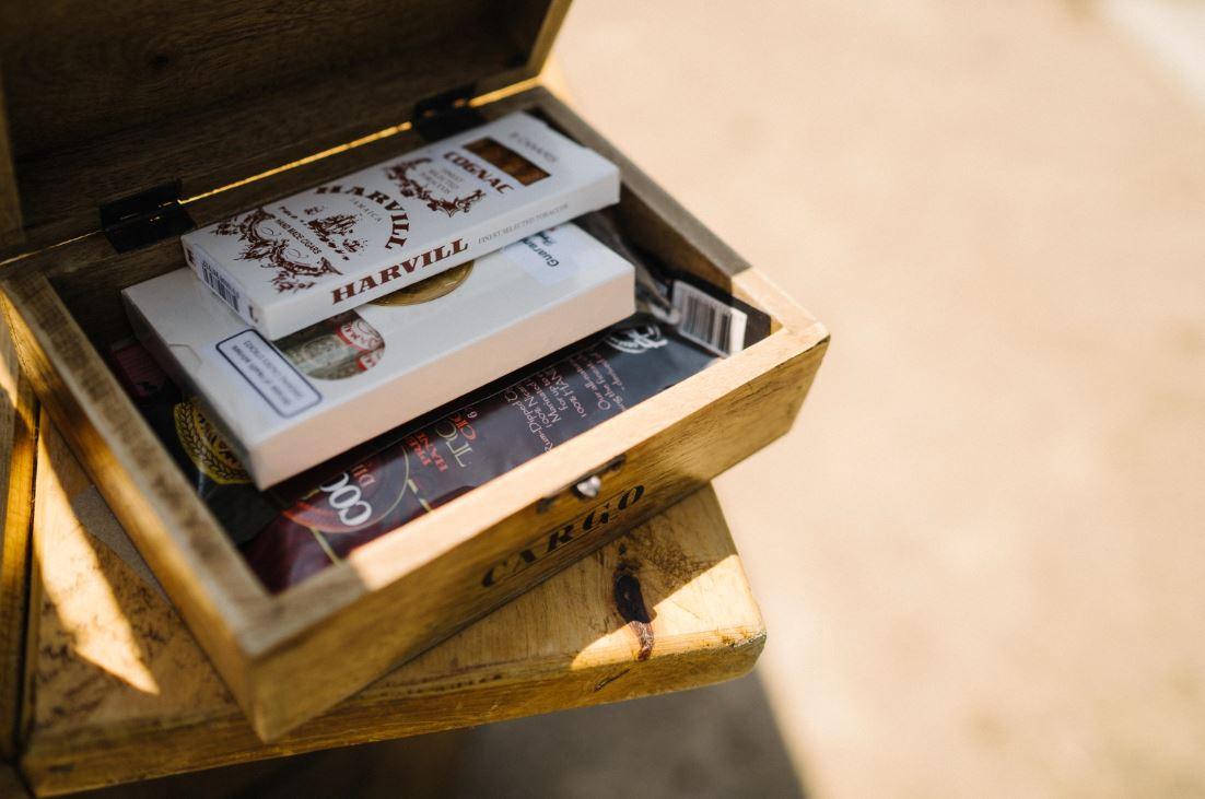 Whickey & Cigar Bar Hire | Chocolate Falls