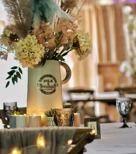 Country Table Setting Event hire   Chocolate Falls