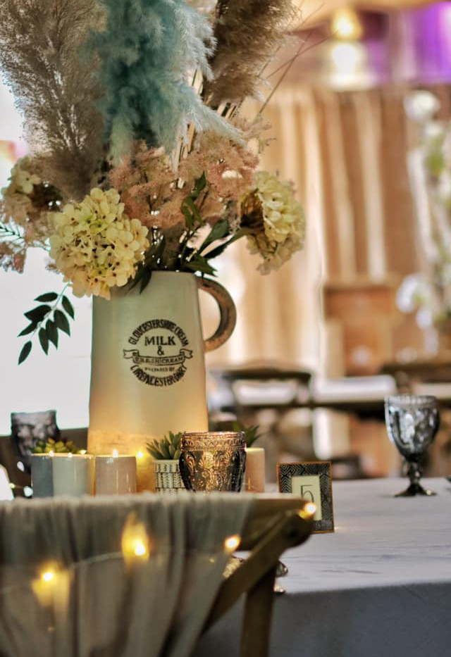 Country Table Setting Event hire | Chocolate Falls