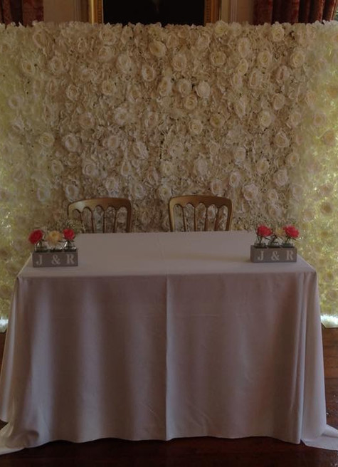 Blossom Trees - Wedding Breakfast Table | Chocolate Falls