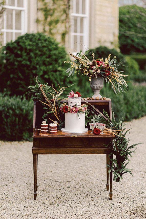 Cake Writing Desk Hire | Chocolate Falls
