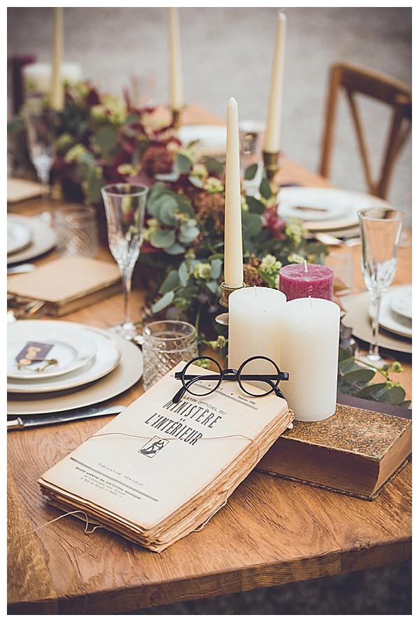 Harry Potter Wedding Display | Chocolate Falls