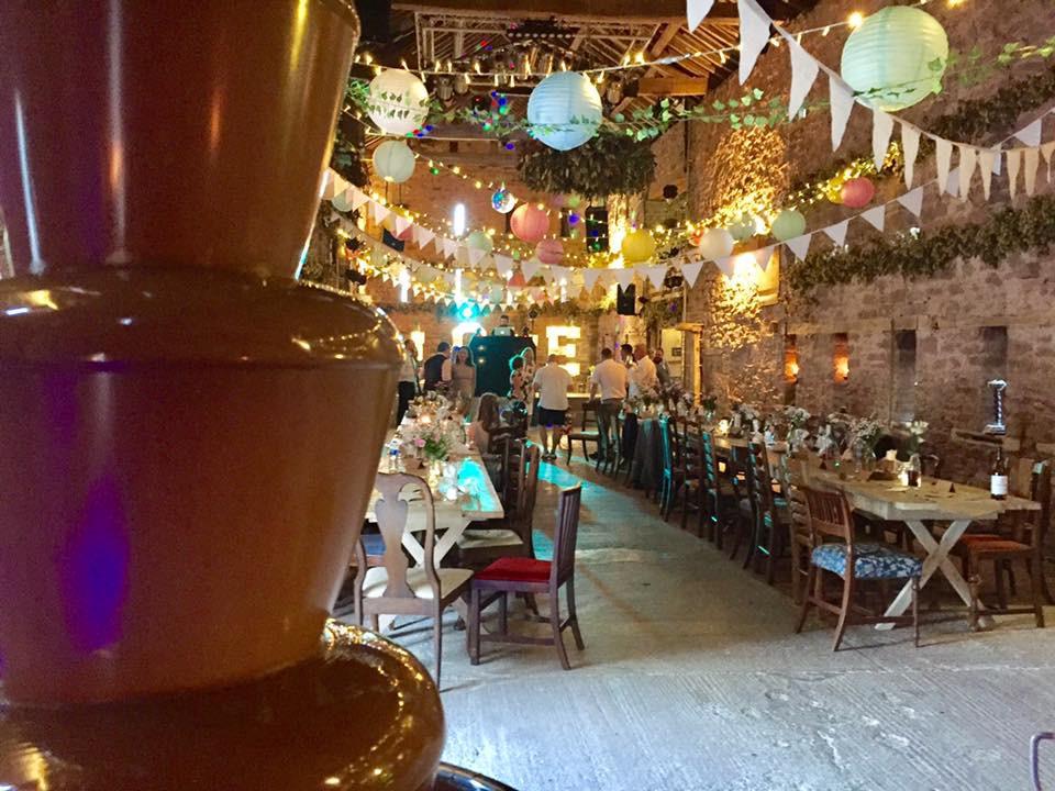 Wedding Chocolate Fountain | Chocolate Falls