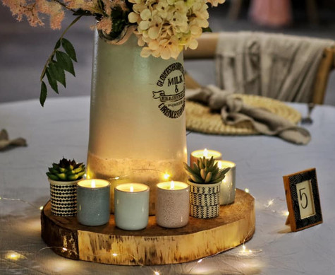 Country Table Setting Event Decor   Chocolate Falls