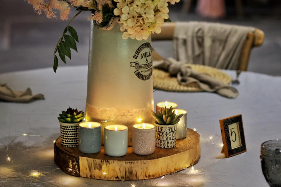Country Table Setting Event Decor | Chocolate Falls